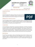 CPI Release October 2015