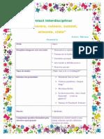 Proiect Interdisciplinar Primavara SA