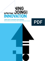 Planning (and Doing) Innovation | By By John Cain (VP, Marketing Analytics) and Zachary Jean Paradis (Director Experience Strategy), with contributions from Joel Krieger, Adrian Slobin, and Pinak Kiran Vedalankar