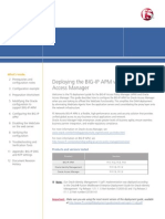 BIG IP Oracle Oam Apm 11 Dg