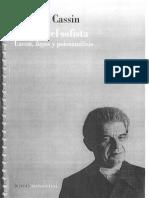 Barbara Cassin lacan. logos y el psicoanalisis