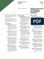 IEEE Device Numbers