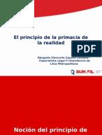 El Principio de la Primacía de la Realidad_Seminario_On_Line_15_05_2015.ppt