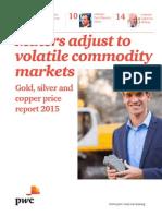 Pwc Global Gold Price Survey Results 2014 11 En