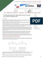 Pré Dimensionamento de Vigas Mistas de Aço e Concreto Para Pontes - Portal Met@Lica, é o Maior Site Especializado Da Construção Civil, Sobre Estruturas Metálicas e Construção Industrializada