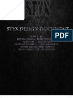 StyxDesignDocument
