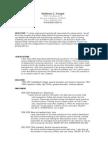 Jobswire.com Resume of mattkoegel