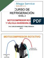 Motocompresor Rotativo y Valvula Inversora