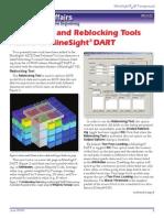 Calculation and Reblocking Tools Added to MineSight® DART