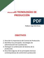 Nuevas Tecnologías de Producción