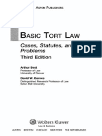 Basic Tort Law by Best