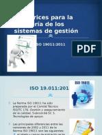 3° Directrices para la auditoría de SG