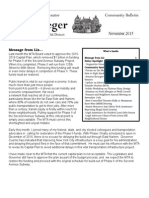 Senator Krueger's Community Bulletin - November 2015