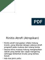 Rinitis Atropi Dan Hipertropi