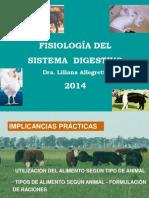 Fisiología Del Sistema Digestivo 2014