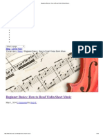 !Beginner Basics_ How to Read Violin Sheet Music