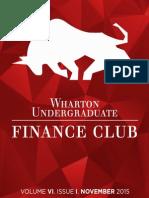[WUFC] November 2015 Newsletter