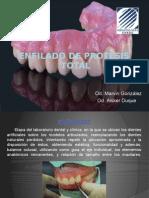 enfilado protesis diapositivas