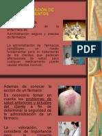 Administracion de Medicamentos.generalidades.1ra.parte2015