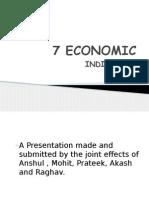 7 Economic Indicators