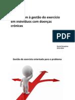 2-Abordagem à Gestão Do Exercíco Em Doentes Crónios