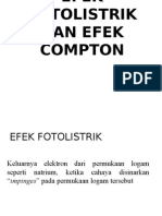 Efek Fotolistrik Dan Efek Compton PPS UNIMED