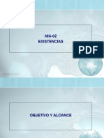 Nic-02 Existencias Practico