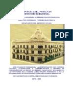 Decreto 20132/03 Manual de Normas y Procedimientos