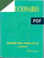 180647053 Solucionario Geometria Analitica de Lehmann