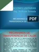 Mecanisnos de Transferencia de Calor