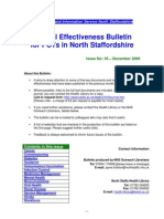 Clinical Effectiveness Bulletin 35 - December 2009