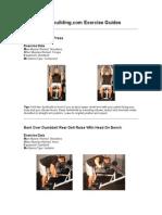Bodybuilding - Shoulders