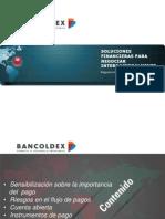 Bancóldex Formas de Pago 2015