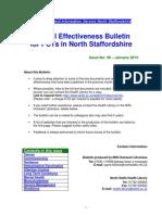 Clinical Effectiveness Bulletin 36 - January 2010