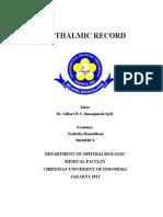 Opthalmic Record Ujian