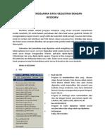 Modul Pengolahan Data Geolistrik Dengan Res2dinv