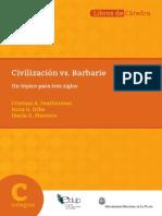 Civilizacion vs Barbarie Libro Critica