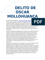 El Delito de Óscar Mollohuanca