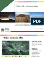 Calidad del aire en Nuevo León y primeras estrategias (SEDESU, 2015)