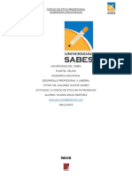 Codigo Etico de Los Ingenieros Industriales Universidad del SABES