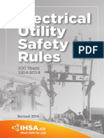 Electrical Utility Safety Rules