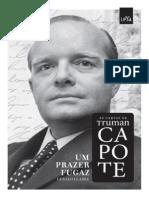 Um Prazer Fugaz_ as Cartas de T - Truman Capote