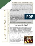 Vocational Newsletter #2 2015-16