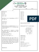 Reforco Matematica Em Fatoracao Complemento