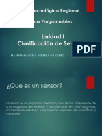 Clasificacion de Sensores-A