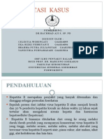 Presentasi Kecil Hepatitis B Dr Rachmad SpPD