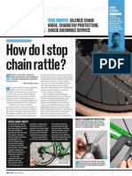 How Do I Stop Chain Rattle