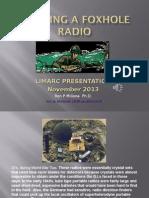 Foxhole Radio LIMARC