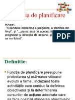 PPTFunctia de Planificare