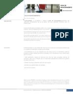 FICHA TECNICA Mantenimiento Microcemento - FICHA TECNICA Mantenimiento Microcemento